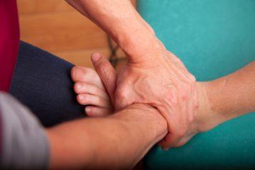 Une séance d'ostéopathie pour la femme